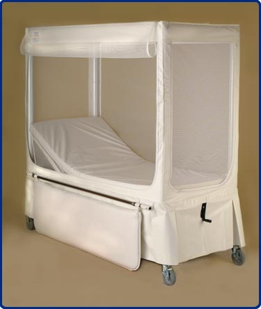 Brand new pedicraft enclosed medical bed ebay for Enclosed bed frame