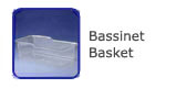 #01823 Acrylic  Bassinet Basket